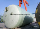 Fibra de vidrio horizontal o vertical del tanque o buque