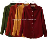 4人のカラー女性の`Sの綿ワイシャツ