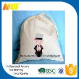 高品質の綿のキャンバスのドローストリングのバックパック袋