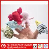 Brinquedo quente do fantoche do dedo do coelho do luxuoso da venda com CE