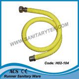 Manguito revestido extensible flexible F.F. del acero inoxidable para el gas (H02-101)