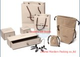フルセットのギフトのペーパー宝石類のリングのイヤリングのネックレスの包装ボックス