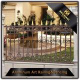 장식적인 힘 별장을%s 입히는 주조 알루미늄 금속 정원 방호벽