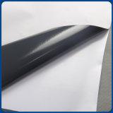 Vinil autoadesivo do PVC da colagem cinzenta material da impressão de Digitas