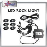 multi indicatore luminoso fuori strada della roccia di colore LED di RGB per i baccelli della jeep 4/6/8/12