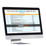 Todo en uno PC Aio-Hm65 Inte I5 con pantalla táctil de 21,5 pulgadas
