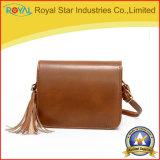 Bolsas vermelhas baratas da alta qualidade brilhante elegante dos sacos de ombro