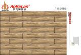 150X600mmマットの床タイルの木によって艶をかけられる無作法な建築材料(15606)