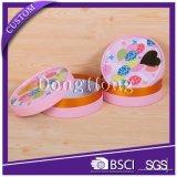 Коробки розовой свечки конструкции кубика цвета роскошной упаковывая
