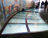 安全なSkidproofのゆとりの薄板にされたガラスの床を構築する良質