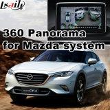 Hintere Ansicht-u. des Panorama-360 Schnittstelle für Mazda 2 3 6 Cx-3 Cx4 Cx-5 Cx-9 Mx-5 mit Signaleingang-Form-Bildschirm des Mzd Systems-Lvds RGB