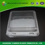 Пластмасовый контейнер ясной еды любимчика коробки материальной устранимой с крышкой