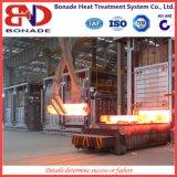 Fornace del riscaldamento del focolare del carrello ferroviario per estiguere
