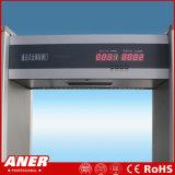 High Sensitivity China Factory Walk Through Metal Detector Entrée de sécurité du corps Détecter la porte avec un prix bon marché dans l'aéroport