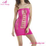 """Nightwear Oco-para fora cor-de-rosa """"sexy"""" do Chemise de Flirtytube"""