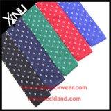 Gravata feita malha da forma do Mens do nó seda chinesa perfeita