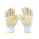 PVC ладони поставил точки перчатки, перчатки хлопка поставленные точки PVC