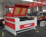 Funcionamento da máquina de estaca do laser