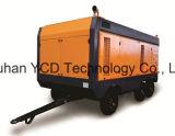 Diesel Driven portátil de tornillo compresor de aire (DSC 900E) para la minería, la construcción naval, la construcción urbana, Energía, militar e Industrias