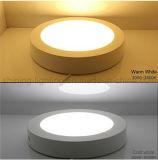 表面によって取付けられるLEDの照明灯円形のホームランプ6Wの天井灯