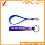 Silicón suave modificado para requisitos particulares venta al por mayor Keychain