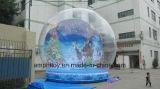 カスタマイズされた膨脹可能なクリスマスの雪の球、警備員の球