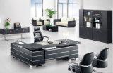 Forniture di ufficio d'istruzione del banco nero lucido Tabella moderna dell'ufficio (HX-ET14016)