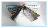 Libro de la tarjeta del rompecabezas de la impresión de los niños