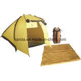 エヴァのマットが付いているキャンプのコンボセット