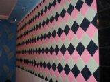 Bonne fibre de polyester de décoration de mur intérieur de pièce de studio de production d'usine des prix de la Chine acoustique