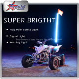Multi Color RGB LED Whips door Afstandsbediening 4FT 5FT 6FT 8FT voor off-Road ATV UTV Buggy