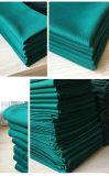 Il verde del tessuto di cotone per lo strato del letto di ospedale e chirurgici tessuti coprono