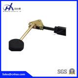 Contrefiche vérouillable noire en acier de compactage de grand chargement de poids verrouillant des chocs d'amortisseur pour l'équipement médical avec le combiné téléphonique avec le connecteur d'U-Forme