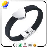 Slimme Soorten de Armband van het Silicone van Sporten en de Aangepaste Embleem Gemaakte RubberArmband van de Armband van pvc en voor PromotieGiften