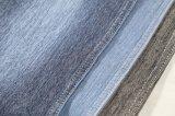 綿のLycraの編むデニムファブリック粗紡糸のニットのジーンファブリック