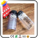 Botella de cristal clara conveniente conveniente de la manera del logotipo