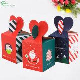 熱い販売のクリスマスイブ(KG-PX073)のための多彩な印刷されたApple包装ボックス