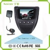 Mini carro escondido DVR de Fulld GPS que conduz o registrador Dashcam para a venda