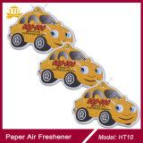 Fábrica del ambientador de aire del papel del coche del olor del hielo negro