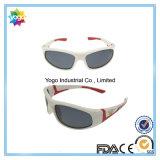 Plus défunte mode de vente chaude de lunettes de soleil extérieures en plastique blanches de gosses