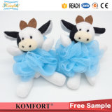 Sisal Rabbit Animal Bath Puff Shower Ball Eponge Toy