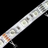 Luz de tiras do diodo emissor de luz do RGB da decoração do festival de SMD5050 60LED/M