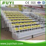 Blanqueadores Jy-706 de los asientos de los blanqueadores del asiento de la audiencia del blanqueador de la gimnasia del alquiler del asiento con gradas