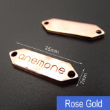 Custom Clothing Label Maker / Custom Metal Labels para Vestuário / Metal Garment Logo