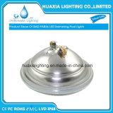 Alta luz brillante de la piscina de SMD3014 LED PAR56, blanco caliente y RGB