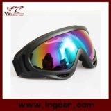 Lunettes transparentes de ski de lunettes de X.400 de lunettes de Paintball de couleur