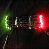 Il doppio colora gli indicatori luminosi variopinti della stringa di natale LED