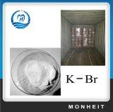 結晶の微粒99.5%の写真の臭化カリウムのKBR