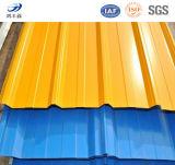 カラープレハブの家のための上塗を施してある鋼鉄屋根ふきシート