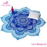 Tovagliolo floreale della coperta della spiaggia della stuoia di yoga del poliestere della Rosa per le donne